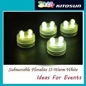 Free shipping!!! sale 100pcs Super Bright Dual waterproof led tea light Wedding backdrop waterproof led tea light