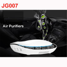 JG007 Smart Solar Anion Air Purifier On For Car Home Office Touch Control Aroma Diffuser Humidifier Formaldehyde PM 2.5 Removal