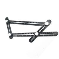 Universal Angularizer Ruler Multi Angle Measuring Tool Ultimate Black Template Aluminium Alloy