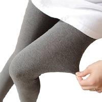 2017 autumn korean style trample feet pants pregnant woman abdomen trample feet leggings pure patchwork maternity skinny belly