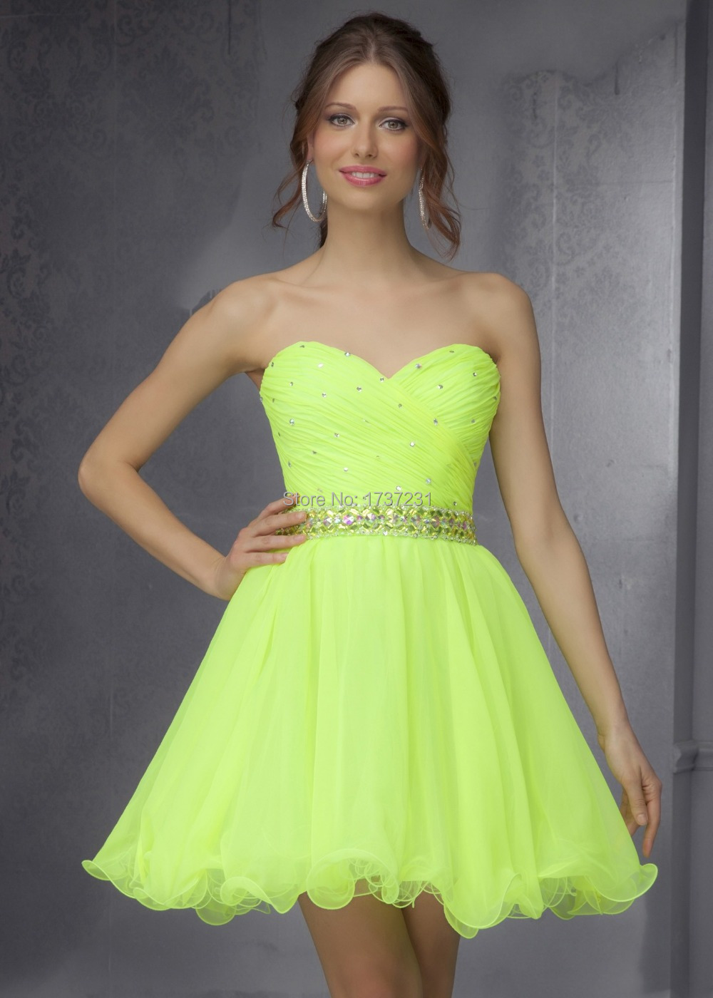 Popular Neon Homecoming Dresses-Buy Cheap Neon Homecoming Dresses ...