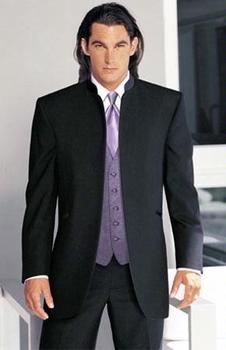 a78f9870c Trajes de boda grises ajustados italianos para hombre traje de padrino de  boda de dos botones para ...