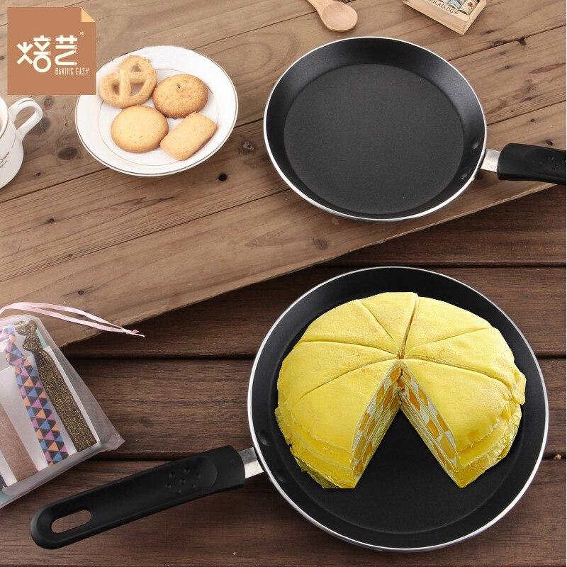 1 pièce poêle à oeufs plat poêle à frire Pancake miettes poêle à frire fond plat Pot