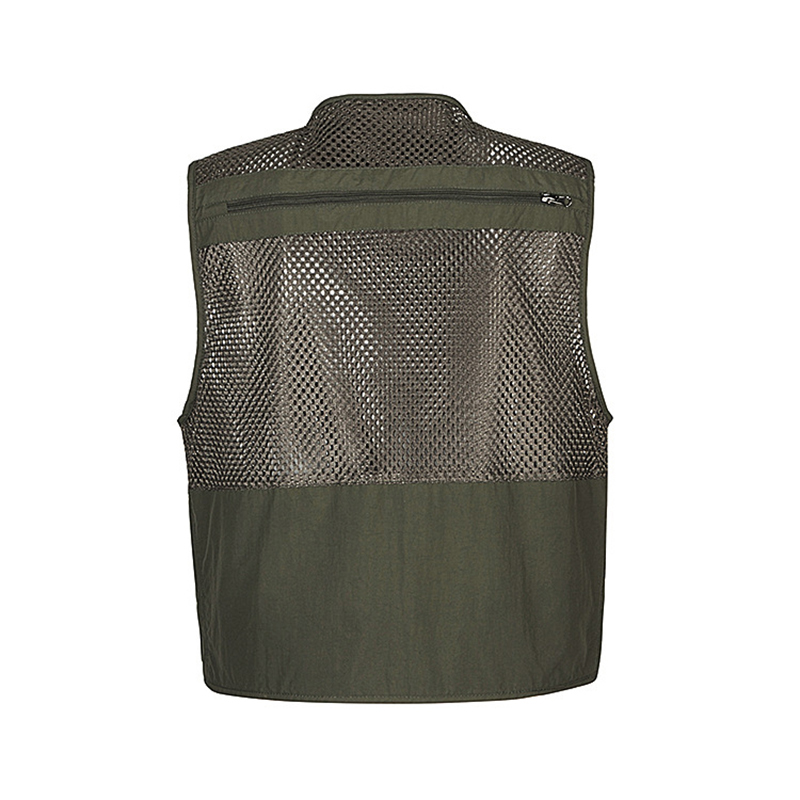 Men`s Hiking Vests Mesh Multi Pockets Photography Fishing Travel Climbing Outdoor Quick Dry Vest Breathable Waistcoat Jackets (28)