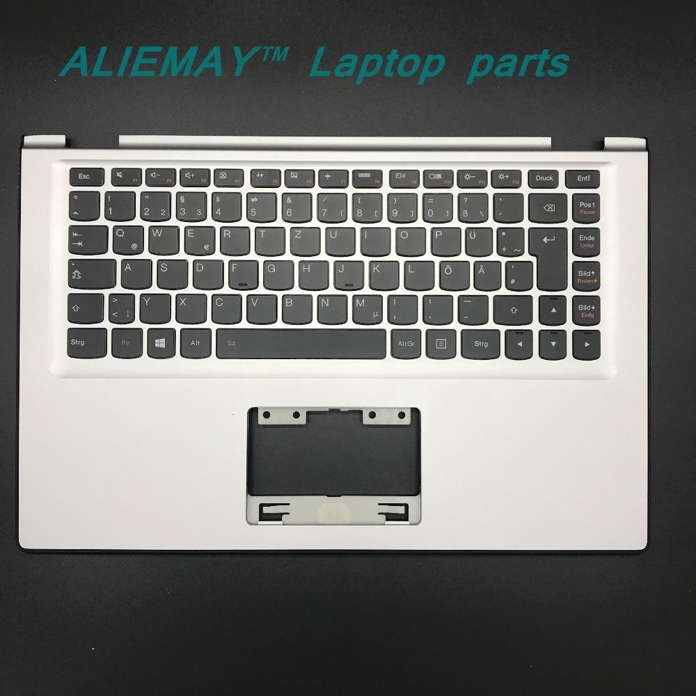 Laptop parts for LENOVO YOGA 2 13 Yoga2-13 SILVER Palmrest with Backlit Germany Keyboard 90205151 laptop parts for lenovo yoga 2 13 yoga2 13 palmrest with backlit uk keyboard silver 90205142 black 90205173