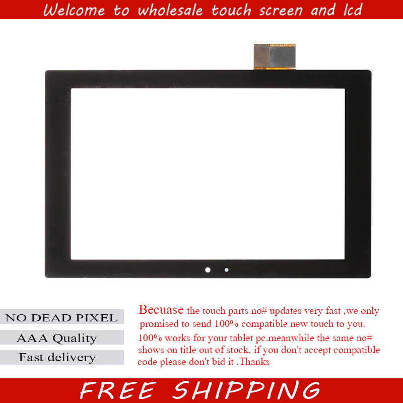 Prix pour Pour Sony Xperia Tablet Z SGP311 SGP312 SGP321 Écran Tactile Écran Tactile Numériseur Lentille En Verre Capteur De Réparation Remplacement 100% Test
