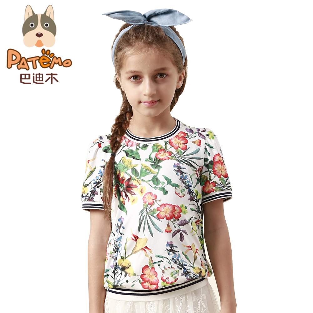 Patemo Girls T Shirts Short Sleeve T Shirt For Girls Baby