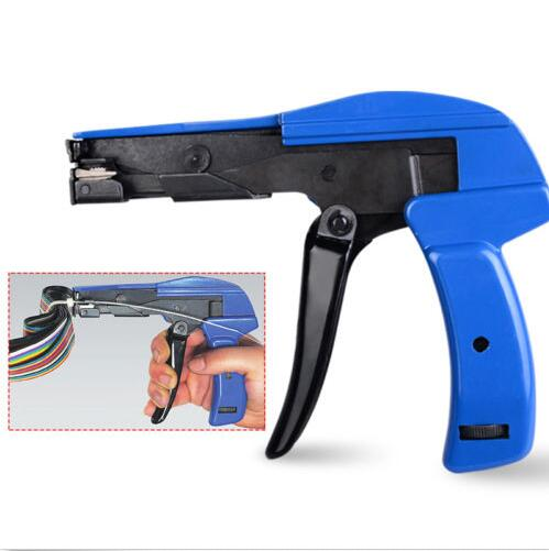 Zip Tie Gun >> Heavy Duty Cable Zip Ties Automatic Tension Cutoff Gun Tool Cable