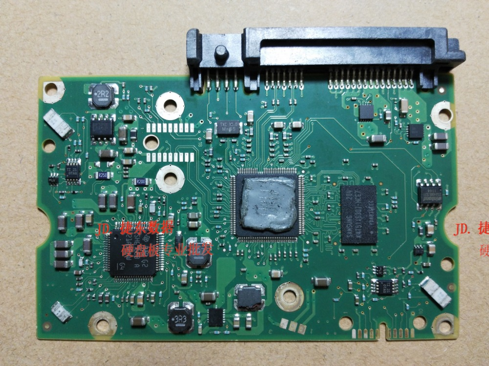 hard drive part PCB logic board printed circuit board 100643297 REV A/B for Seagate 3.5 SATA hdd data recovery hard drive repair