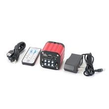 Hayear 4 k câmera industrial microscópio completo hd 120 fps sony imx377 microscópio digital hdmi usb para o telefone de solda