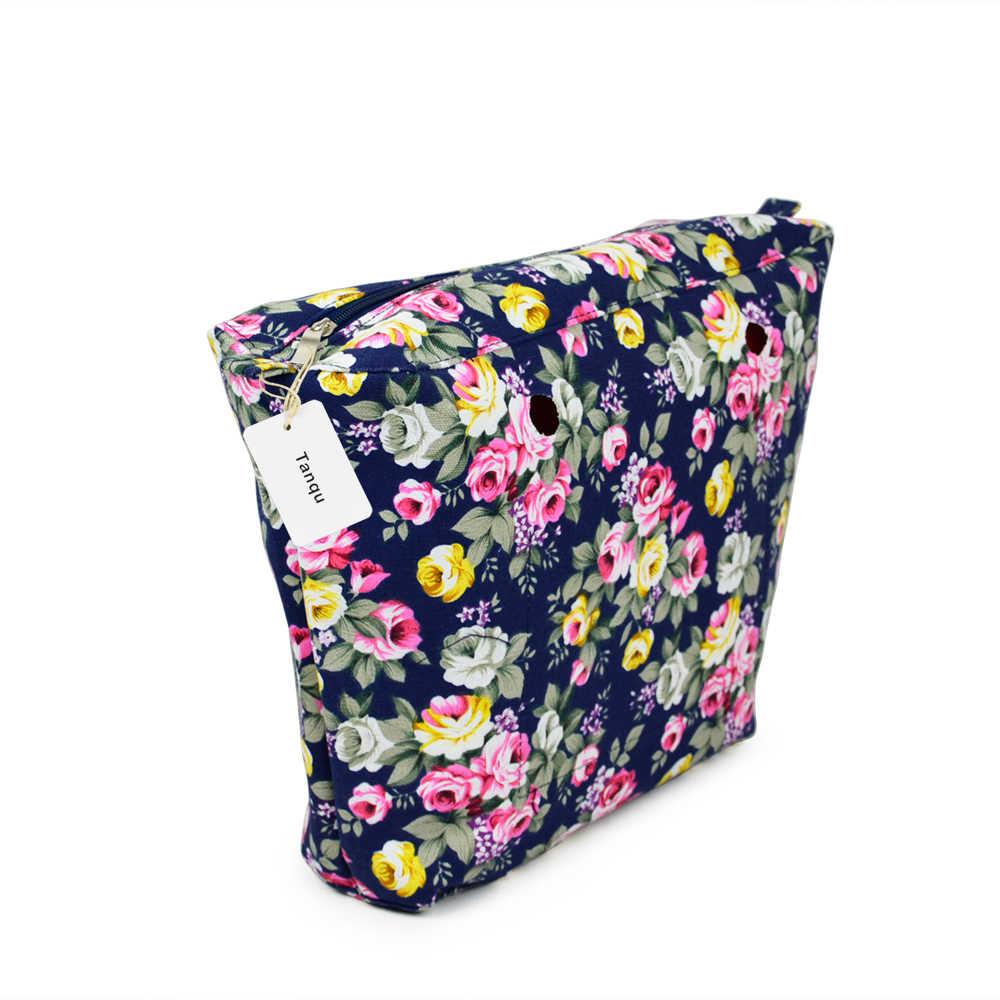 tanqu 2018 New Classic Mini Colourful Insert Lining Inner Pocket For Obag o bag women bag Tote Handbag