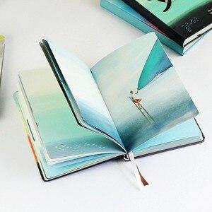 Image 2 - Podróż czas przestrzeń Notebook ładny kolor strony pamiętnik agenda Graffiti a5 organizator filofax notebooki biuro szkolne artykuły papiernicze