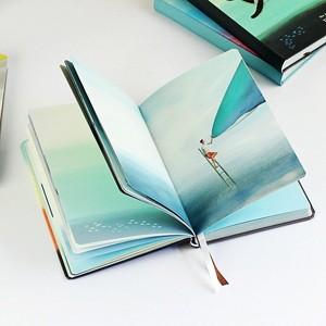 Image 2 - נסיעות זמן חלל מחברת חמוד צבע דפים יומן סדר יום גרפיטי a5 מתכנן אוגדן מחברות משרד ספר מכתבים