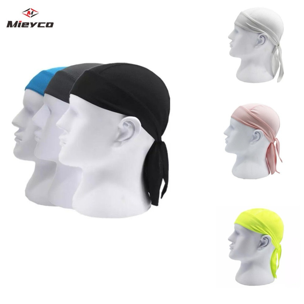 Quick Dry Pure Cycling Cap Head Scarf Summer Men Running Riding Bandana Headscarf Ciclismo Pirate Cap Headband Men Head Scarf