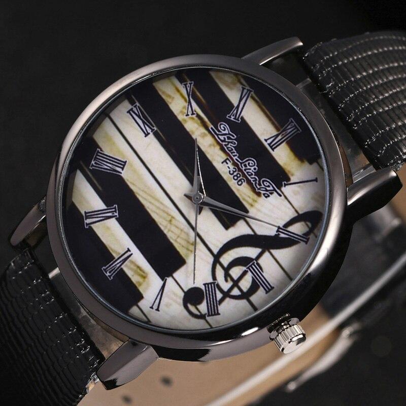 Hommes de Dernière Mode De Luxe En Cuir Cadeaux Montre Élégant Classique Casual Analogique Quartz Affaires Montre-Bracelet