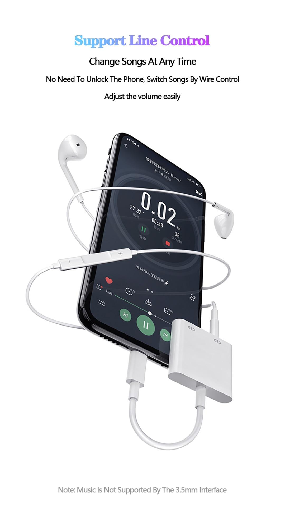 Macho a Hembra USB Tipo C a 3.5mm Jack de Audio Adaptador Para Huawei Samsung Xiaomi