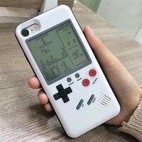 Unique Multi Phone Cases For Iphone 6 6S 7 8 Plus Cases TPU Case Tetris Game