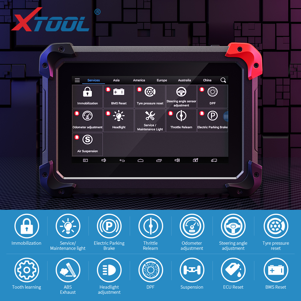 EZ400pro All System Diagnostic Tool Scanner Automotive Code Reader Tester Key Programmer ABS Airbag SAS EPB DPF Oil Functions