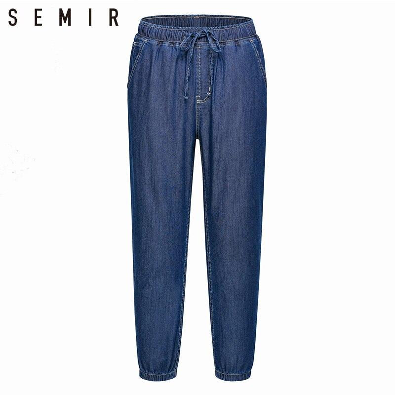 SEMIR jeans man jogger pants men's classic jeans male denim jeans Designer Trousers Casual sporty chic fashion Deep Blue pants men denim cargo pants pocket fashion leisure jeans male fashion casual jeans trousers