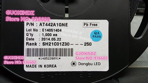 Image 2 - Dongbu LED podświetlenie LED AT422 wysokiej dioda LED dużej mocy 1.5W 3V 3535 4040 zimny biały podświetlenie LCD do telewizora do TV AT442A1GNE