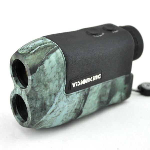 Visionking 6x25CZ Laser font b Rangefinder b font BAK4 Roof Prism Monocular Scope 600 m Distance