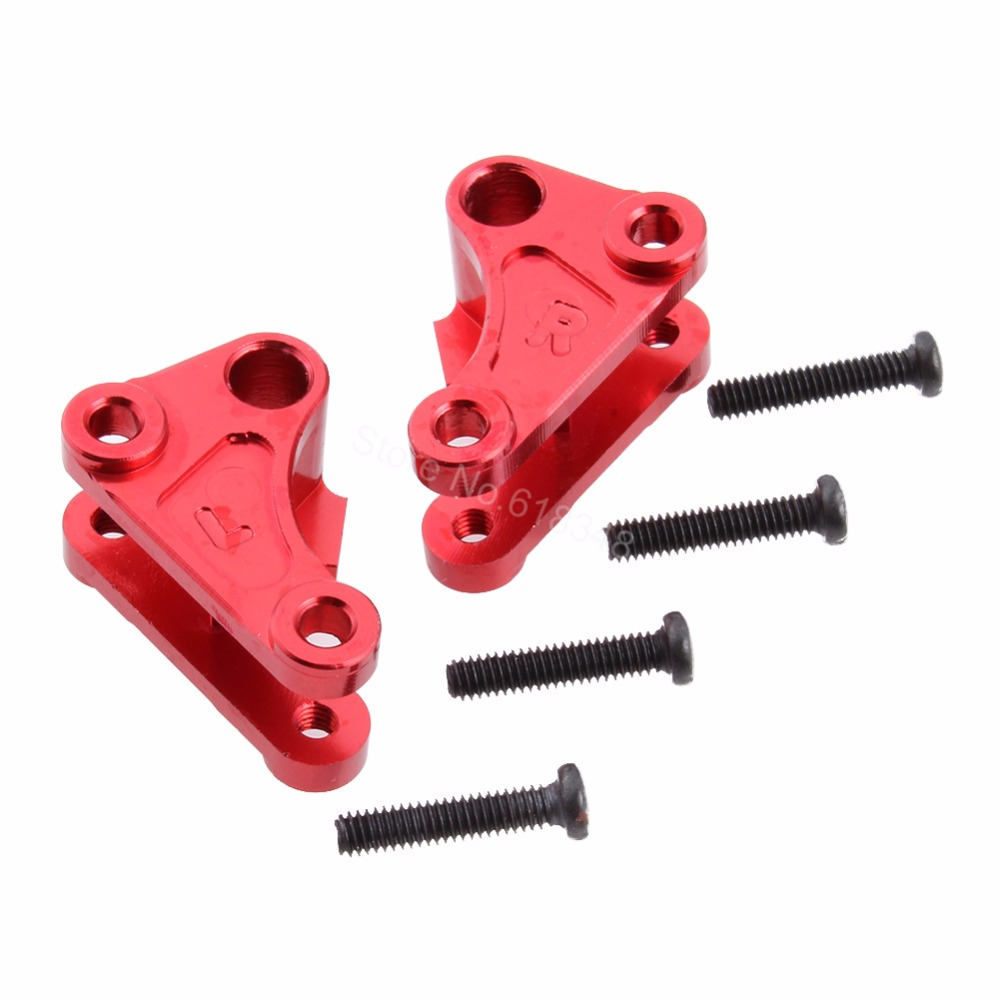Aluminum Front Shock Rocker Arm Set L/R 0043 For FY-03 WLtoys 12428 12423 1/12 RC Car Crawler Short Course Truck Metal Parts wltoys 12428 12423 1 12 rc car spare parts 12428 0091 12428 0133 front rear diff gear differential gear complete