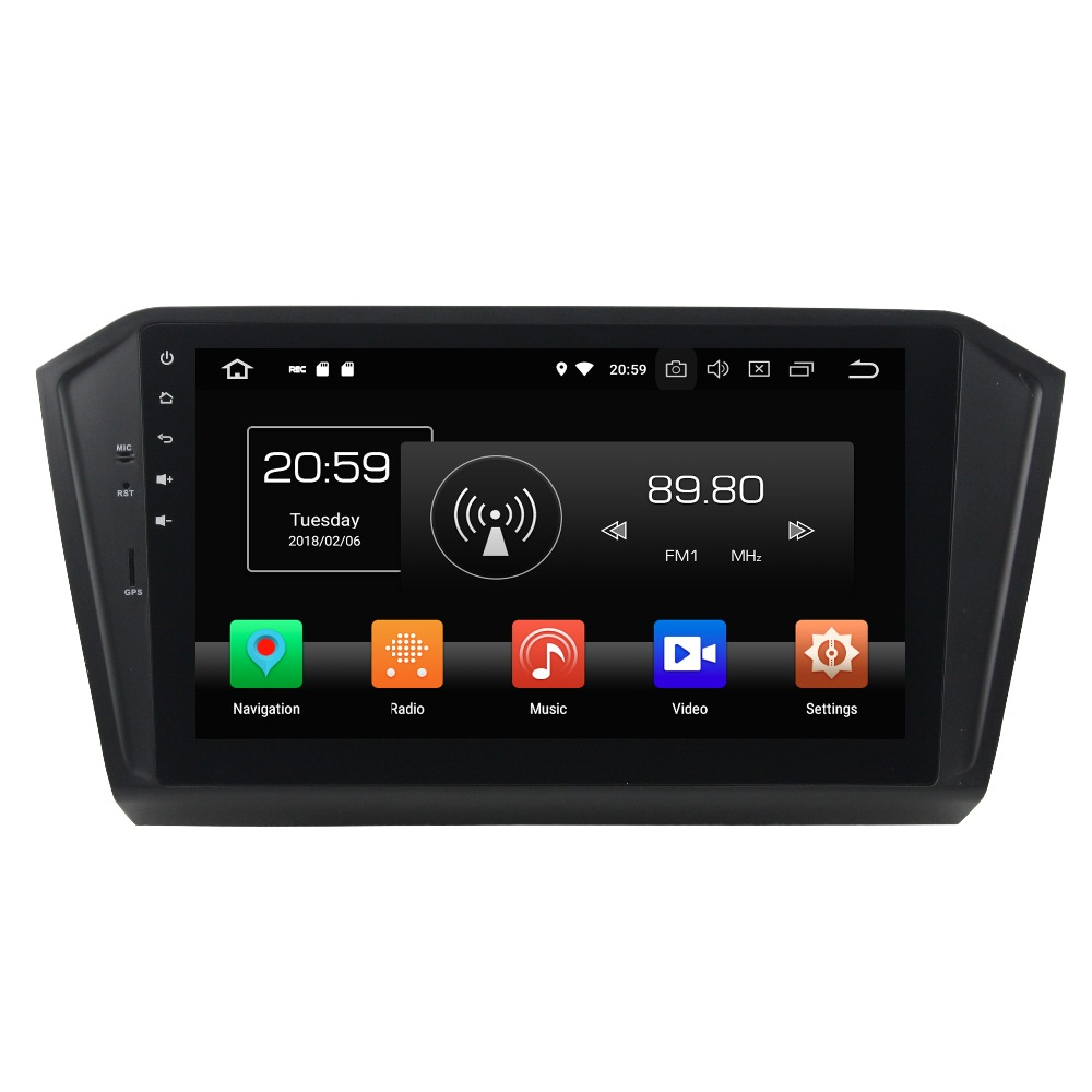 Android 8 0 octa core 4GB RAM car dvd player for vw PASSAT 2015 2016 ips