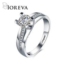 wedding rings for women platinum plating fashion engagement ring cz diamond jewelry bijoux bague femme anel aneis feminino aros