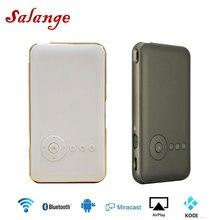 Salange T06 мини карманный проектор Andriod 7,1 wifi Blutooth Смарт Портативный проектор Встроенный аккумулятор 5000 мАч HDMI IN Miracast