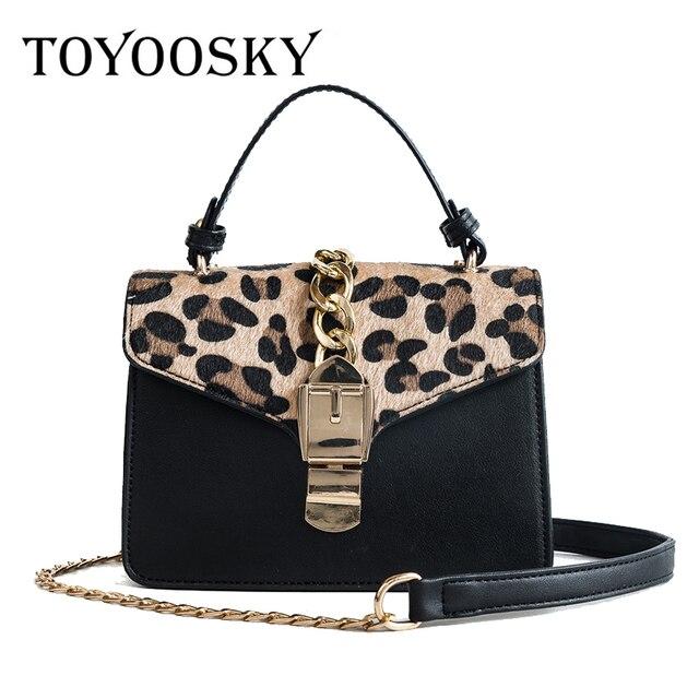 33f136105ded TOYOOSKY Brand 2018 New Flap PU leather Mini Handbag Hot Sale Ladies  Shoulder Bag Women Classic