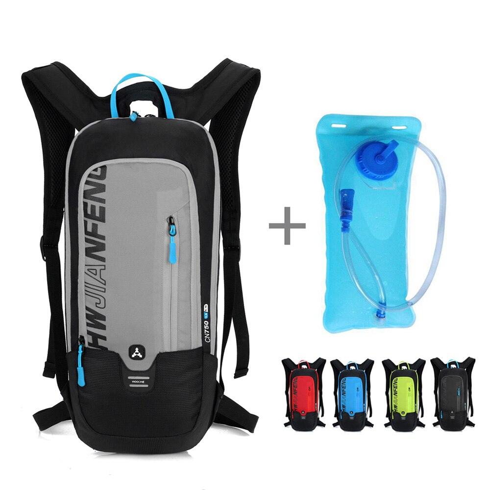 Waterproof Bicycle Backpack 6L Men's Women MTB Mountain Bike Water Bag Nylon Cycling Hiking Camping Running Hydration Backpack