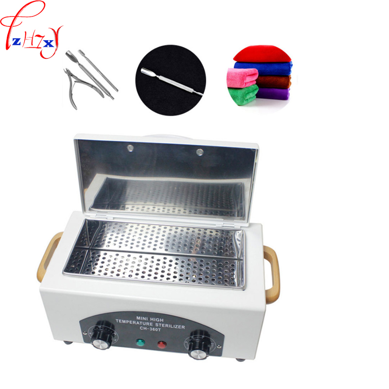 High temperature nail tool disinfection cabinet CH-360T salon hot air disinfection cabinet equipment 110/220V 300W 1PCHigh temperature nail tool disinfection cabinet CH-360T salon hot air disinfection cabinet equipment 110/220V 300W 1PC