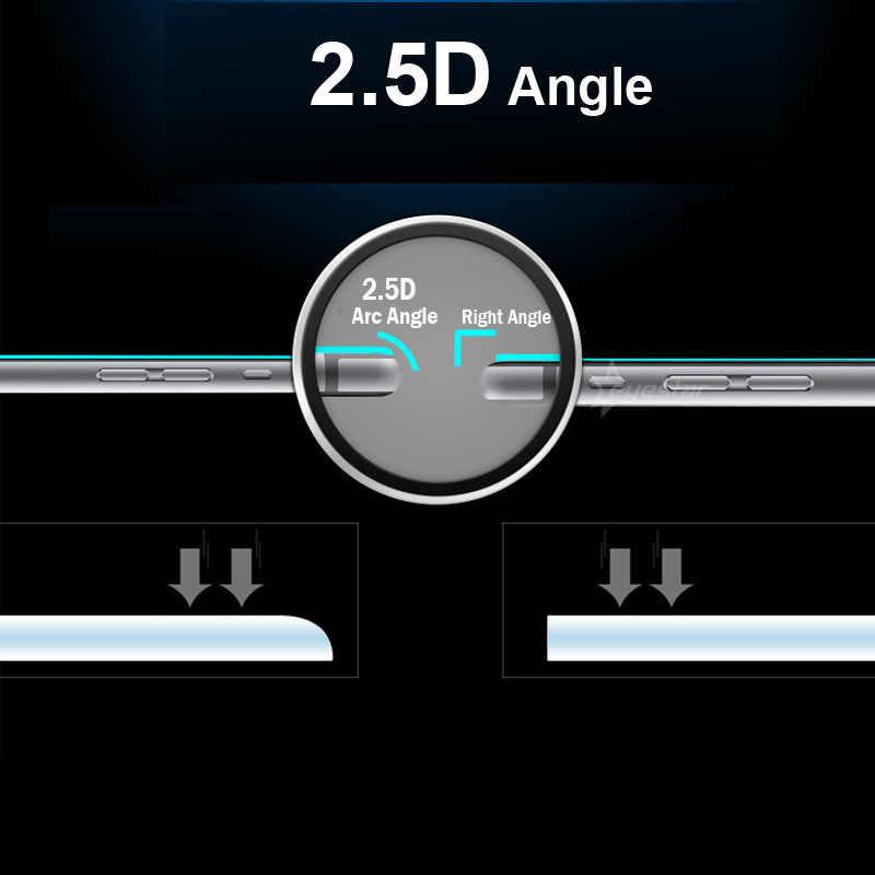 Ultra claro de templado de vidrio de película Premium 9 H LCD de 0,26 MM a prueba de explosiones Protector de pantalla para LG G3 Stylus D690 d693 + Kit de limpieza