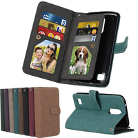 Luxury Wallet Card Cases For LG G4 Stylus Case Flip Leather Phone Bags For Coque LG