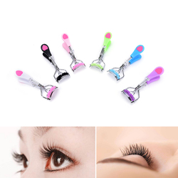 JETTING 1PCS Professional False Eye Lashes Curling Clip Makeup Tool Kit Cute Heart Stainless Steel Eyelashes Curler Beauty Tools