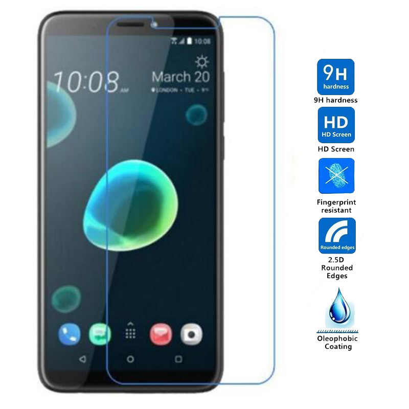 For HTC Desire 12 Plus Tempered Glass 9H Protective Explosion-proof Screen Protector For HTC Desire 12 Glass 5.5'' film