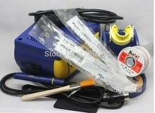 Много подарков + ЕС штекер для HAKKO FX-951 fx951 цифровая паяльная станция/110 V/220 V припоя Электрические паяльники