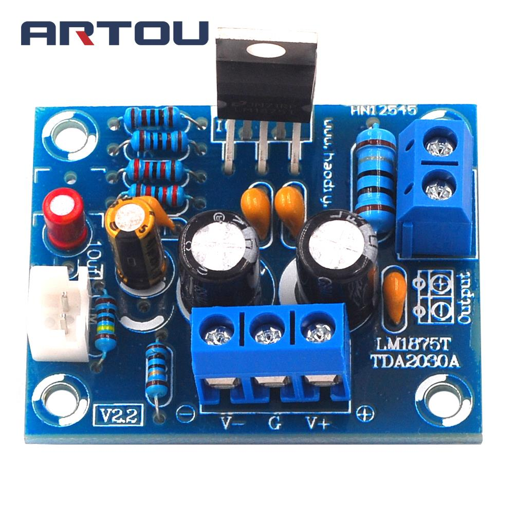 20w Hifi Mono Channel Lm1875t Stereo Audio Amplifier Board Module Using Lm1875 Ic Circuit Diagram Kit For Diy
