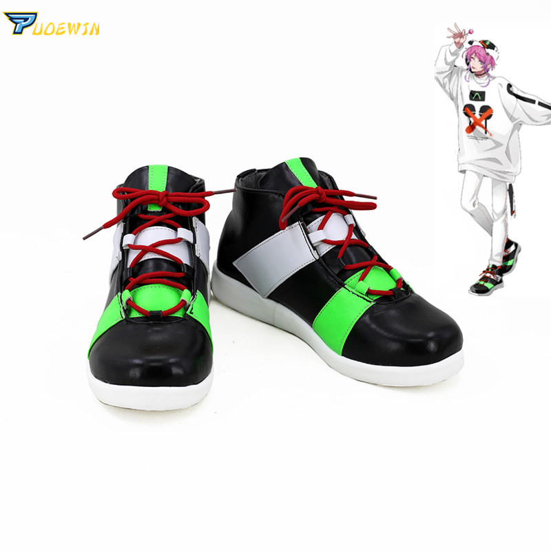 Division Rap Battle RAMUDA AMEMURA Cosplay Boots Anime Shoes Custom Made