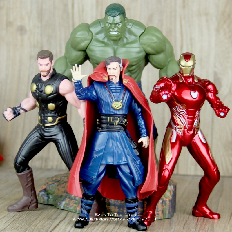 Toys & Hobbies Disney Marvel Avengers Doctor Strange 16cm Action Figure Posture Anime Decoration Collection Figurine Toy Model For Children Non-Ironing