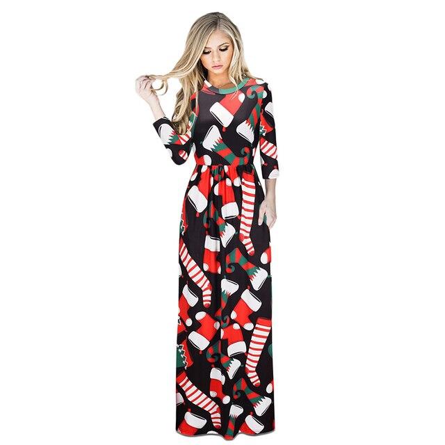 Lange jurk voor kerst