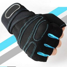 Перчатки с полупальцами из мягкой ткани, дышащие, противоскользящие, для тяжелой атлетики, для спортзала, спортивные, для поддержки запястья, перчатки для велоспорта, езды на горном велосипеде
