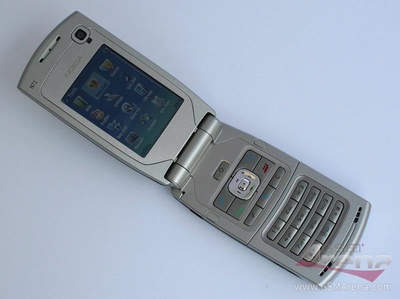 N71 100% Оригинальный разблокированный мобильный телефон Nokia N71 Flip 2,4 дюймов GSM 2G/3g Symbian OS с гарантией один год бесплатная доставка - 3