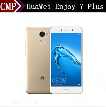 "Original HuaWei Enjoy 7 PLus 4G LTE Mobile Phone Octa Core Android 7.0 5.5"" IPS 1280X720 4GB RAM 64GB ROM 4000mAh Fingerprint"