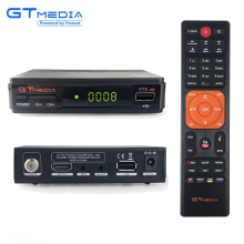 [Genuine]Gtmedia v7s Dual USB Mini DVB-S2 Cccam Receptor Auto Roll Biss Vu Key Satellite Decoder TV Tuner HD 1080P Receiver EPG