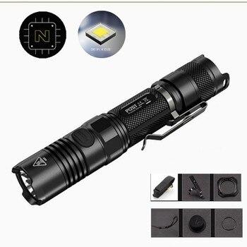 NITECORE P12GT Flashlight 2015 new 2*CR123 / 1*18650 battery 7 modes CREE XP-L HI V3 LED 1000 lumens 320m beam distance