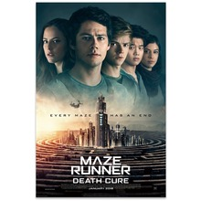 цены на NUOMEGE Maze Runner The Death Cure Movie 2018 Textless Art Silk Poster 13x18 24x36 inch Wall Pictures For Room Decor  в интернет-магазинах