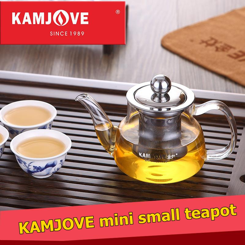 free shipping Kamjove Elegant Flower Tea Cup Pot with small teapot tea device black tea cup