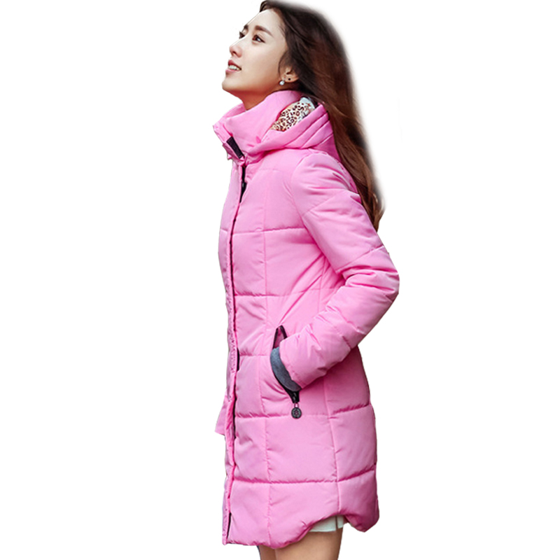New 2017 Winter Jacket  Winter And Autumn Thick Long Wear High Quality Parkas Winter Jackets Solid Outwear Women lady thick jacket 2017 new autumn and winter england style high quality women leather100