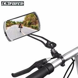 Espelho de bicicleta mtb estrada da bicicleta espelho retrovisor ciclismo guiador volta olho cego espelho flexível segurança espelhos retrovisores